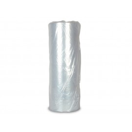 Plastic kledinghoes op rol, 120 cm / 750 stuks