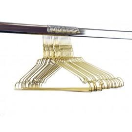Draadhanger gekleurd, goudkleur (400 stuks)