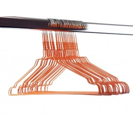 Gekleurde draadhanger 2.40/oranje