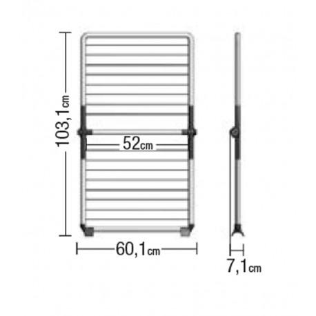 Droogrek Super Dry Wing - wit/mint