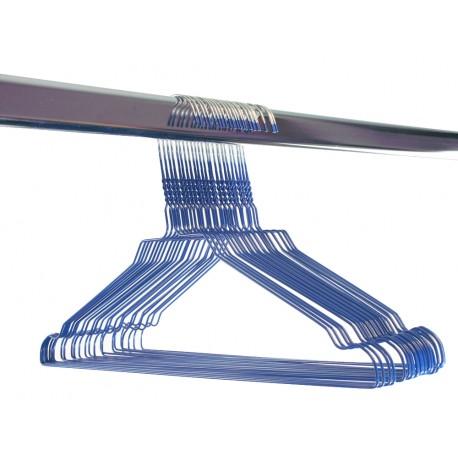 Gekleurde draadhanger 2.40/blauw
