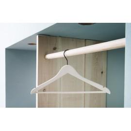 Houten kledinghanger/broeklat - L'orient - Ecru