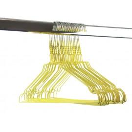 Draadhanger gekleurd, geel (50 stuks)