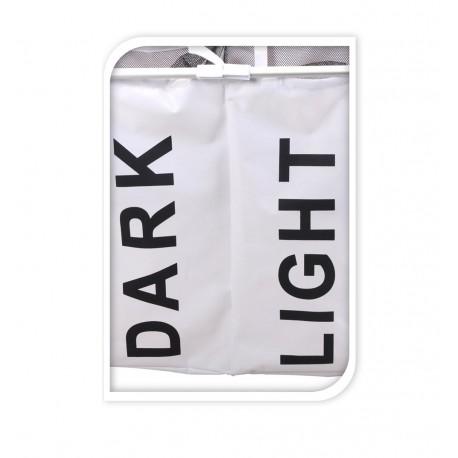 Wasmand - DARK/LIGHT - Zwart