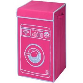 Wasmand - Wasmachine - Roze