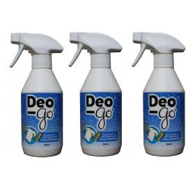 3 Flessen Deo-Go, verwijdert gele transpiratie-vlekken