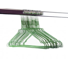 Gekleurde draadhanger 2.40/groen