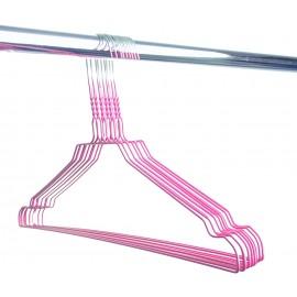 Draadhanger gekleurd, roze (50 stuks)