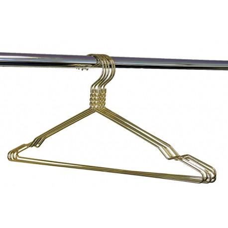 Kledinghanger goud 45 cm