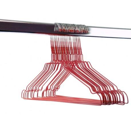 Gekleurde draadhanger 2.40/rood