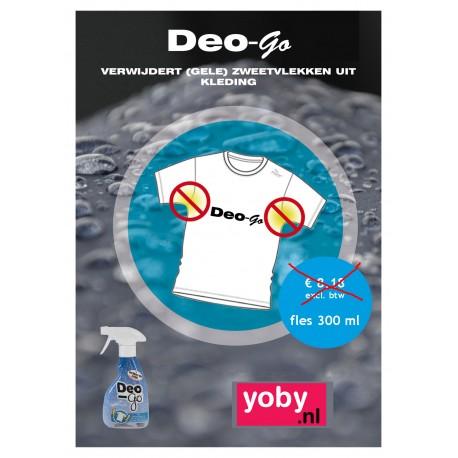 1x Deo-Go, verwijdert gele transpiratievlekken