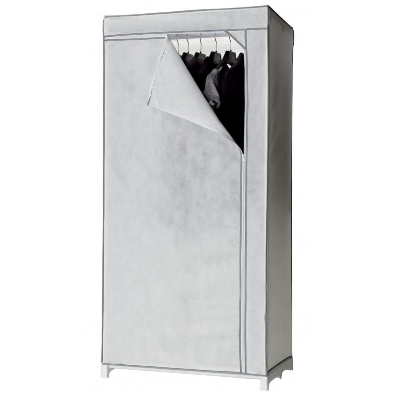Plastic Kledingkast Met Rits.Kledingkast Stofkast Campingkast Wit Met Rits H 160 Cm