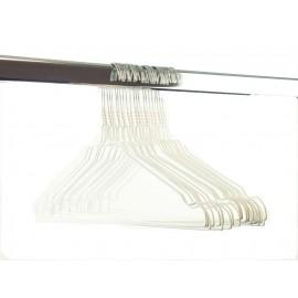 Draadhanger gekleurd, wit (450 stuks)