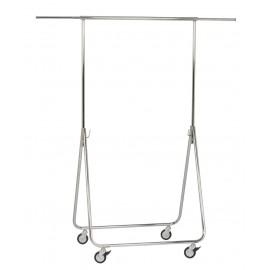 Inklapbaar kledingrek / Vouwrek, H.160 x L.80 cm